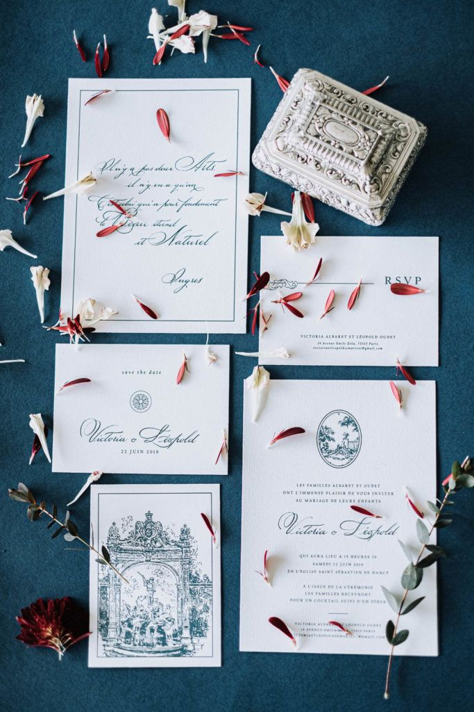Papeterie mariage invitation